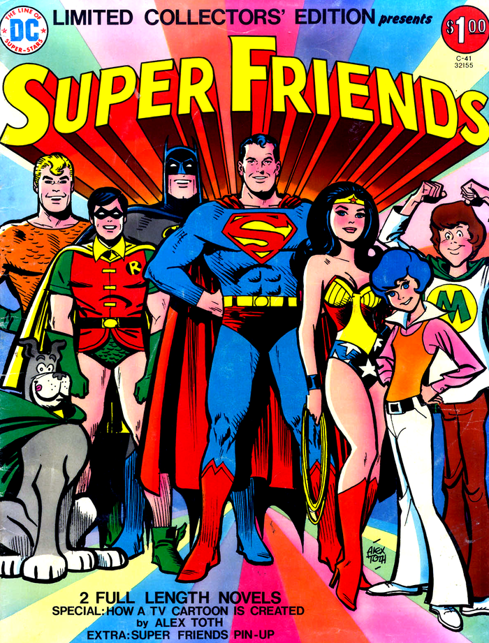 Limited Collectors' Edition C-41 (Super Friends Treasury) cover by Alex Toth
