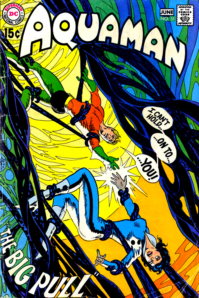 Aquaman #51 (1970) cover by Nick Cardy