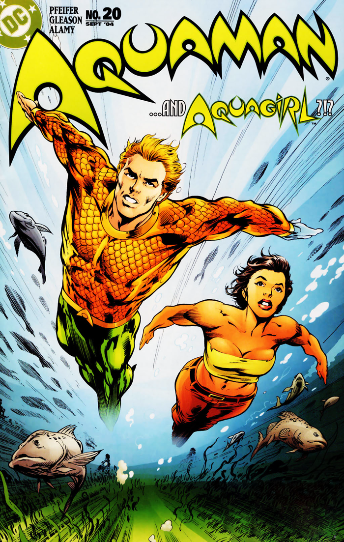 Aquaman #20 (2004) cover by Alan Davis and Mark Farmer