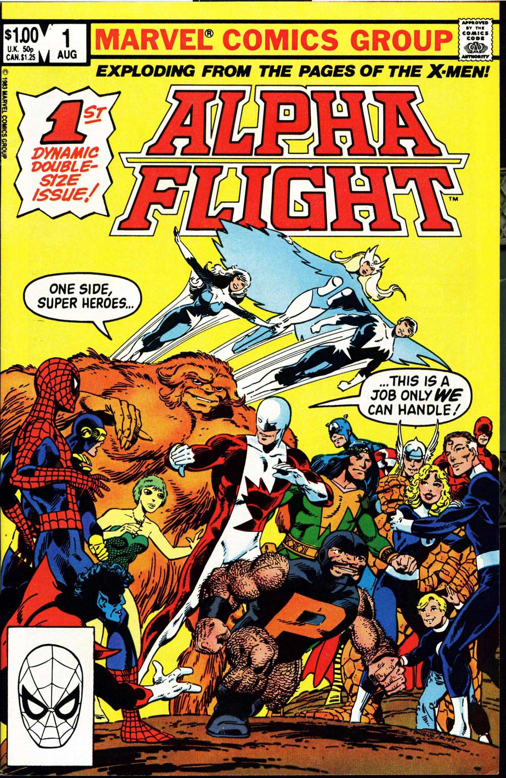 John Byrne on Alpha Flight #1