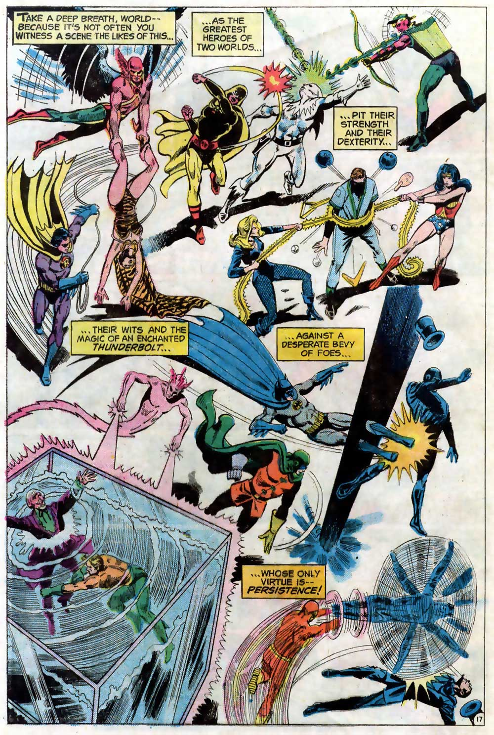 Dick Dillin on Justice League of America #124