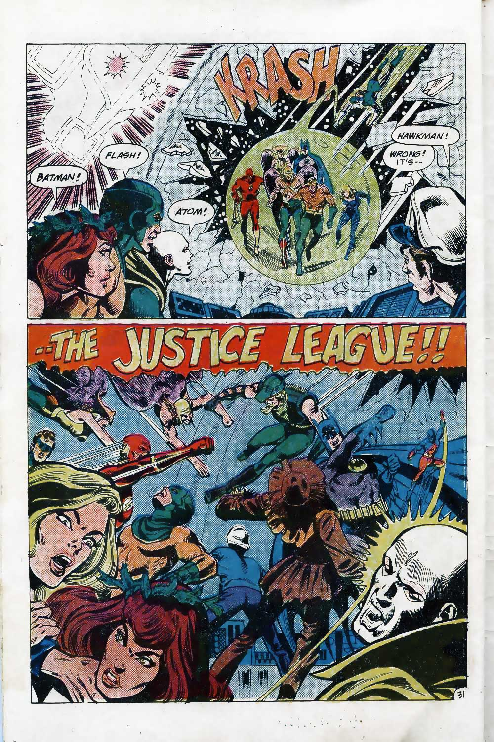 Dick DIllin on Justice League of America #143