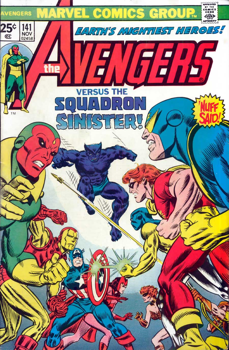 Avengers #141 with the Squadron Supreme