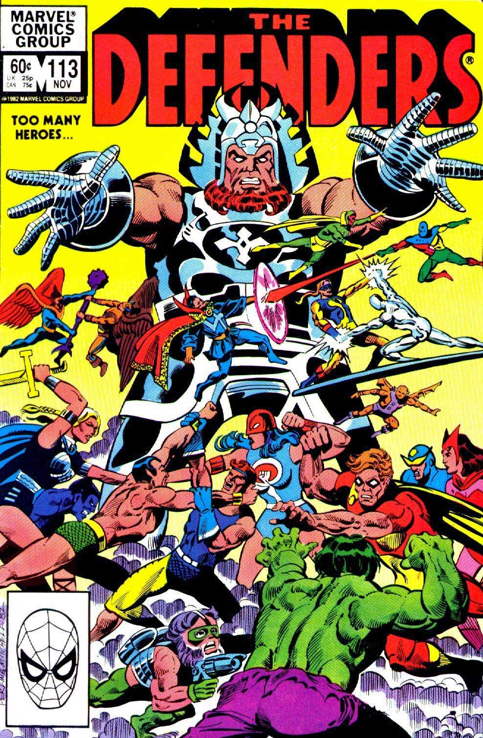 Defenders #113 with the Squadron Supreme