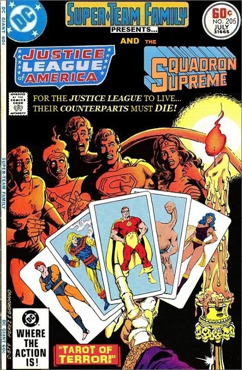 Super-Team Family Presents the Justice League of America vs the Squadron Supreme