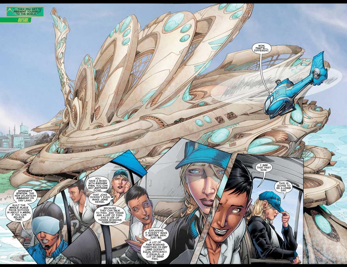 Aquaman #50 by Dan Abnett, Brett Booth, Norm Rapmund