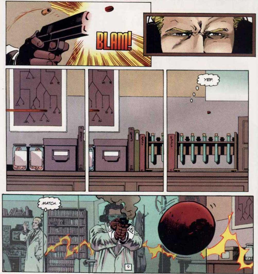 JLA Year One #1 by Mark Waid, Brian Augustyn, and Barry Kitson