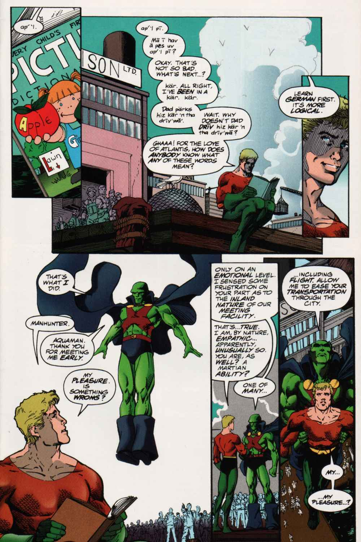 JLA Year One #2 by Mark Waid, Brian Augustyn, and Barry Kitson