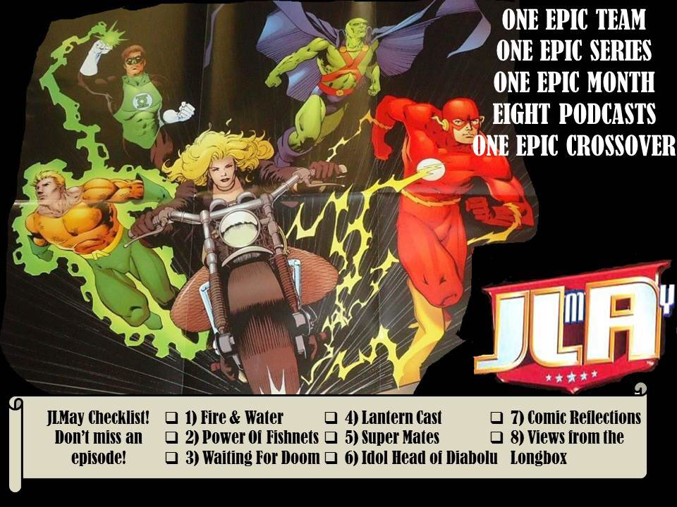 JLA Year ONE podcast crossover - JLMay