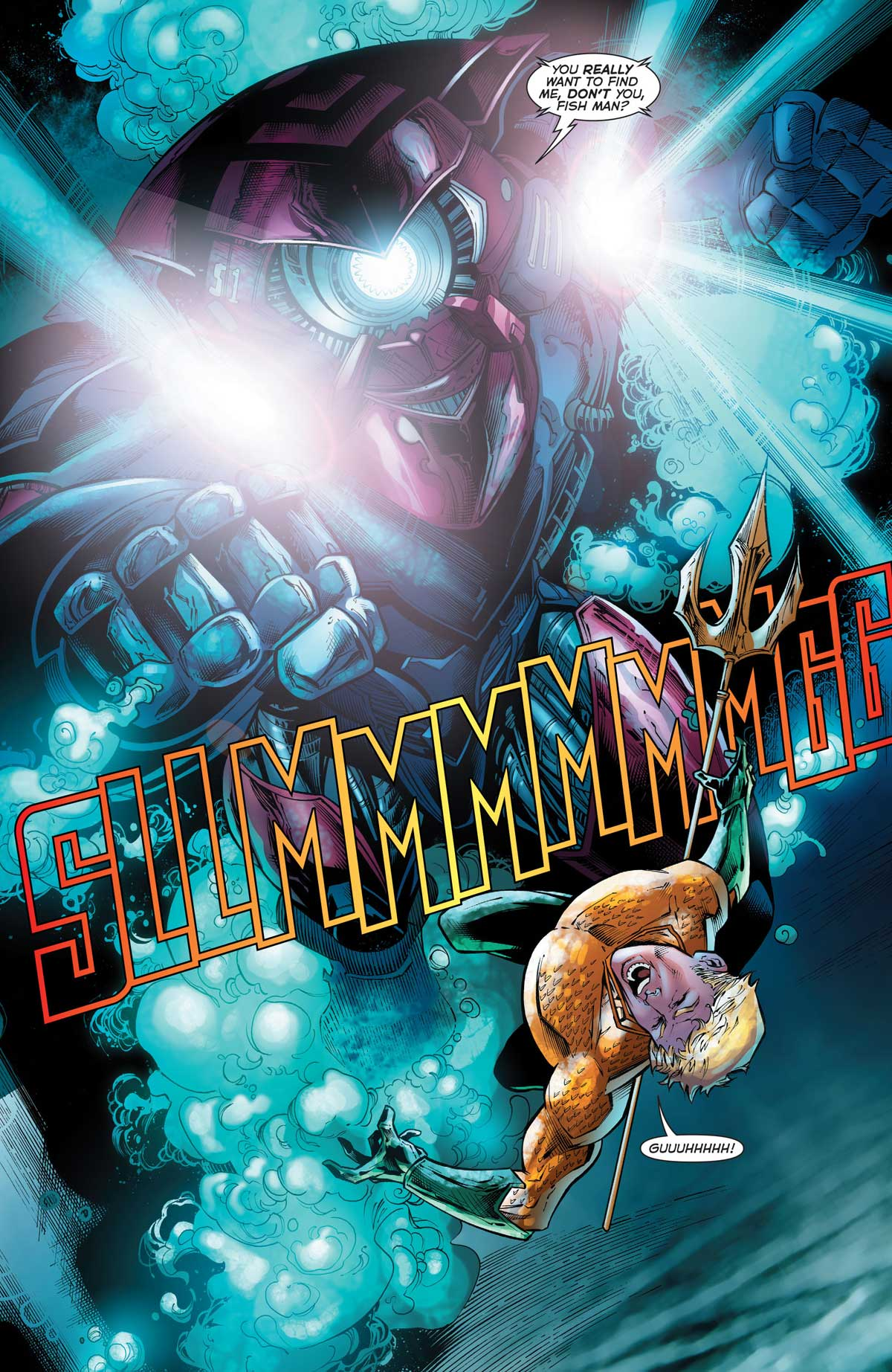 Aquaman #51 by Dan Abnett, Vicente Cifuentes, Juan Castro