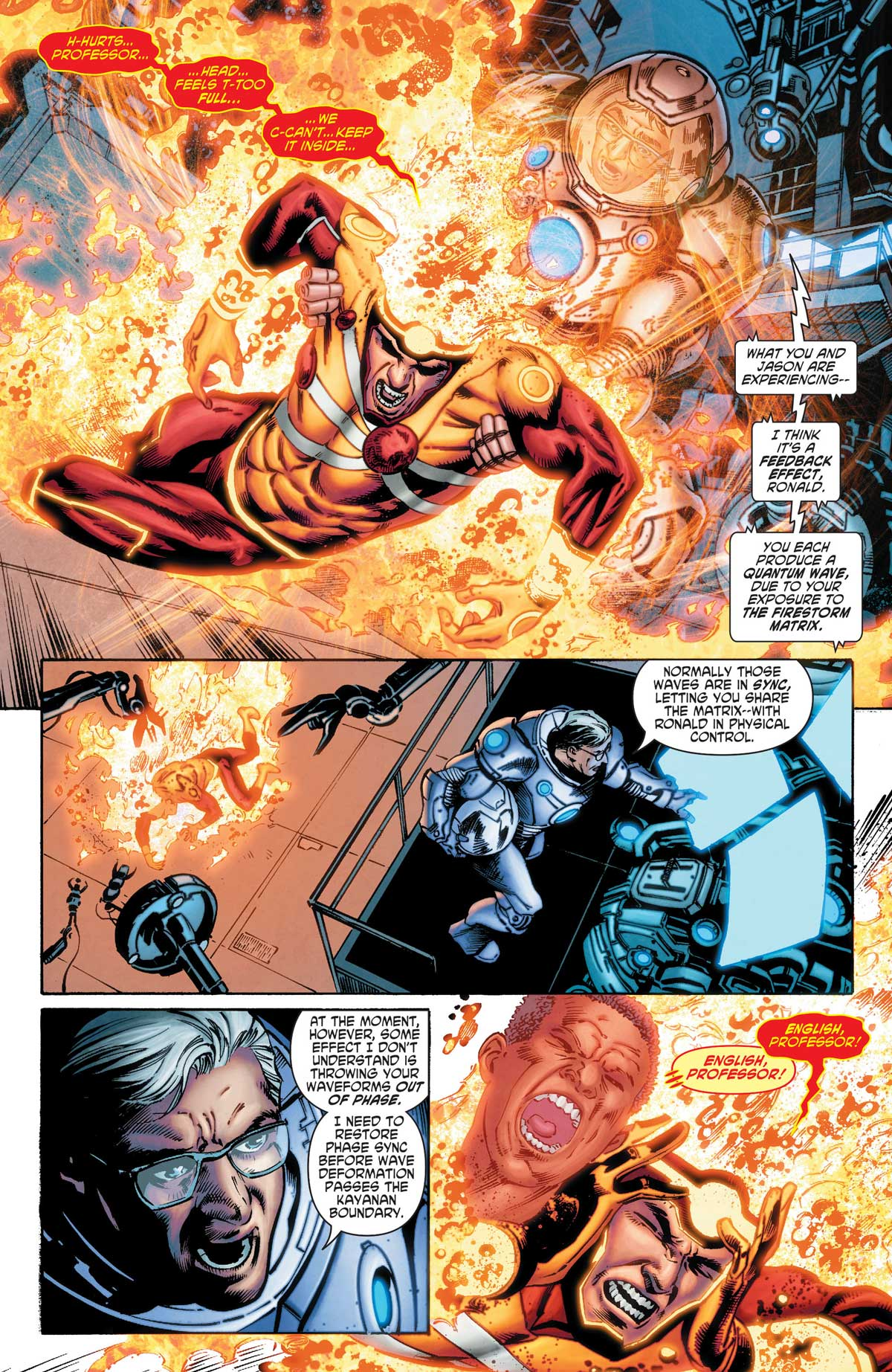 Firestorm in Legends of Tomorrow #2 by Gerry Conway, Eduardo Pansica, Rob Hunter