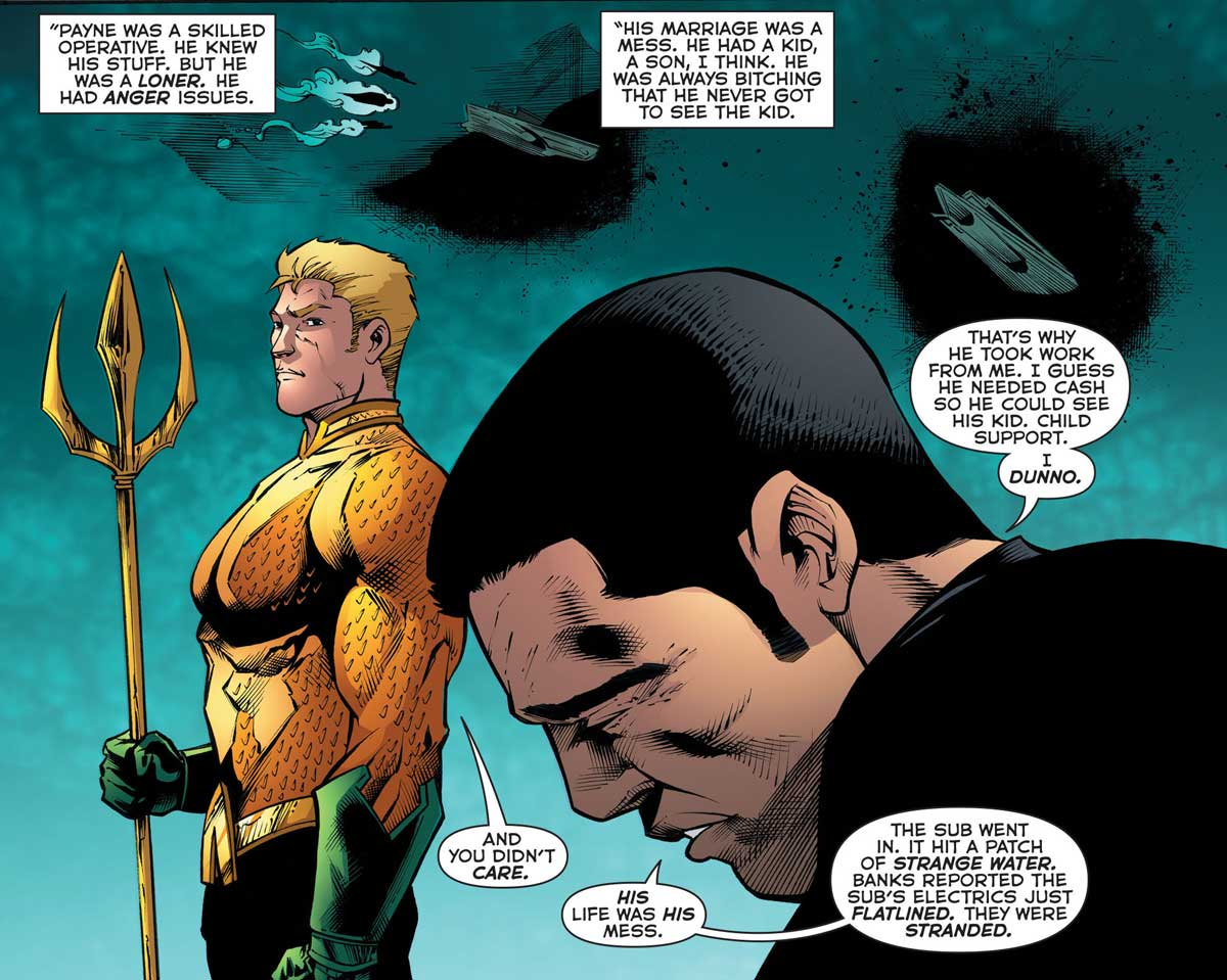 Aquaman #52 by Dan Abnett, Vicente Cifuentes and Juan Castro