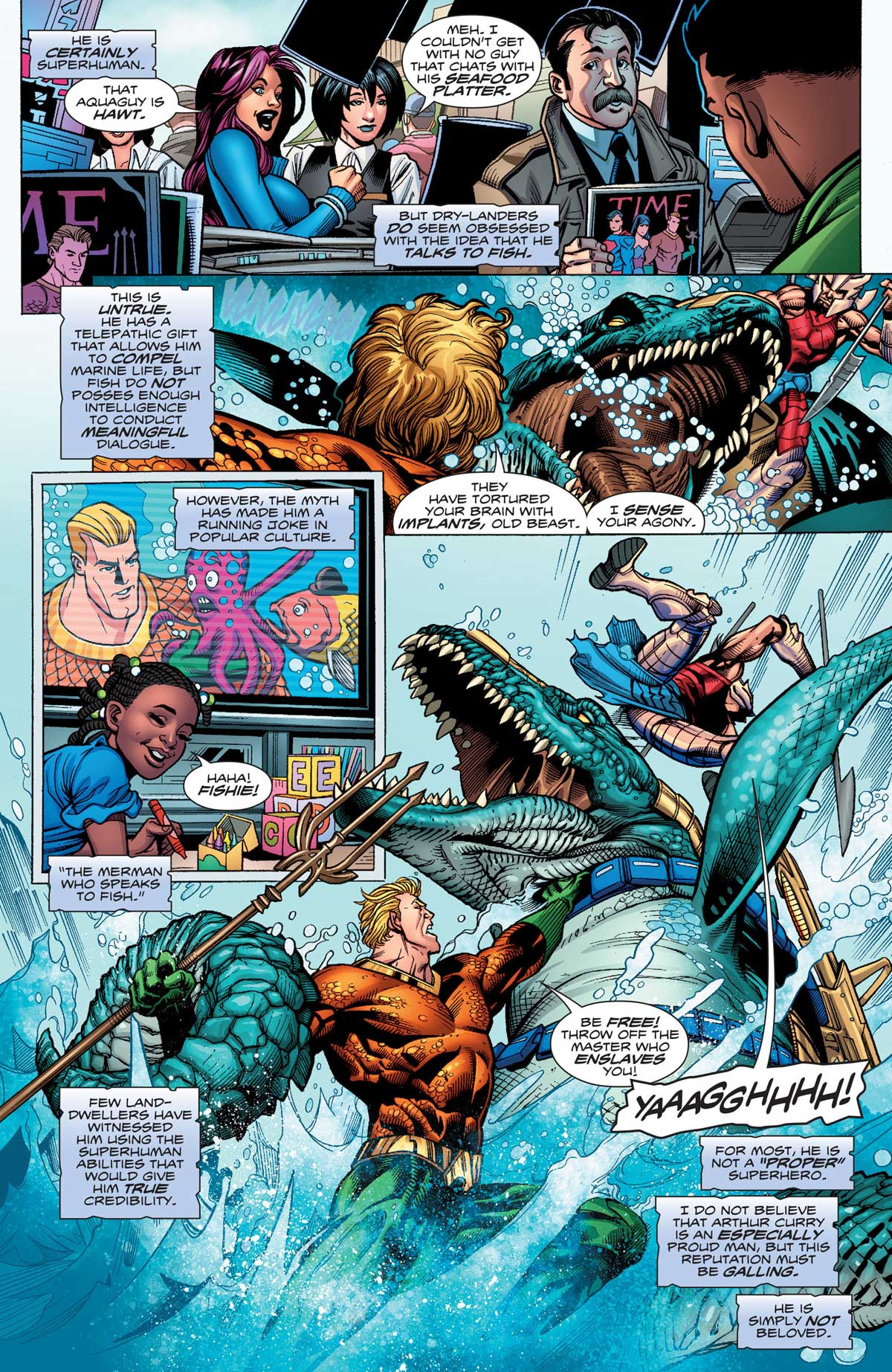 Aquaman Rebirth by Dan Abnett, Scot Eaton, Oscar Jimenez, Mark Morales and more