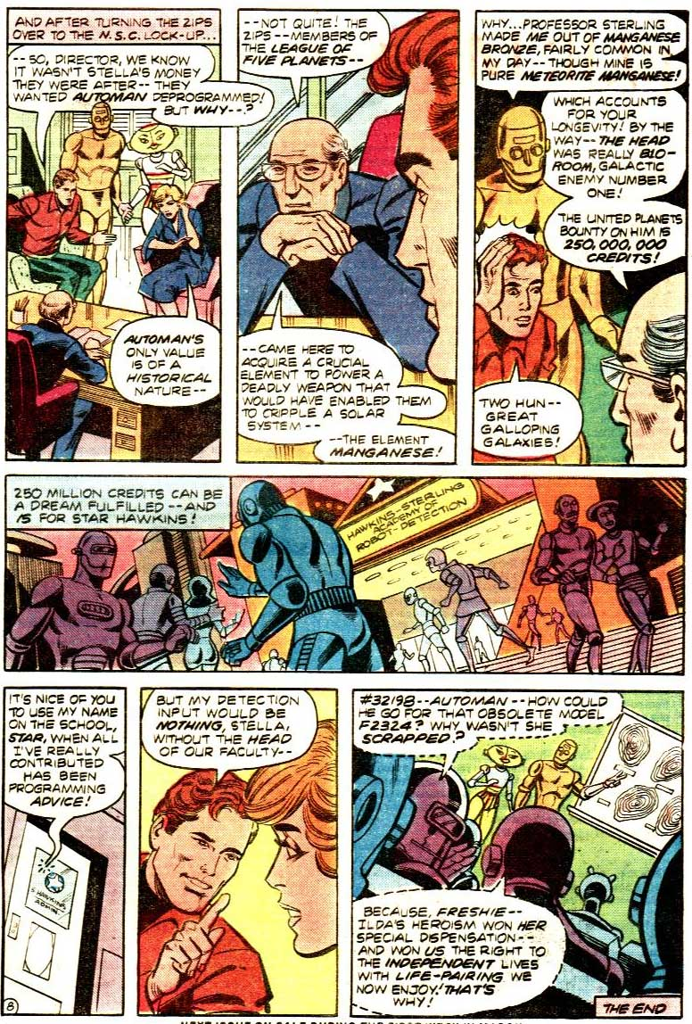DC Comics Presents #33 starring Star Hawkins and Automan by Mike Tiefenbacher, Alex Saviuk, Vince Colletta, and more!