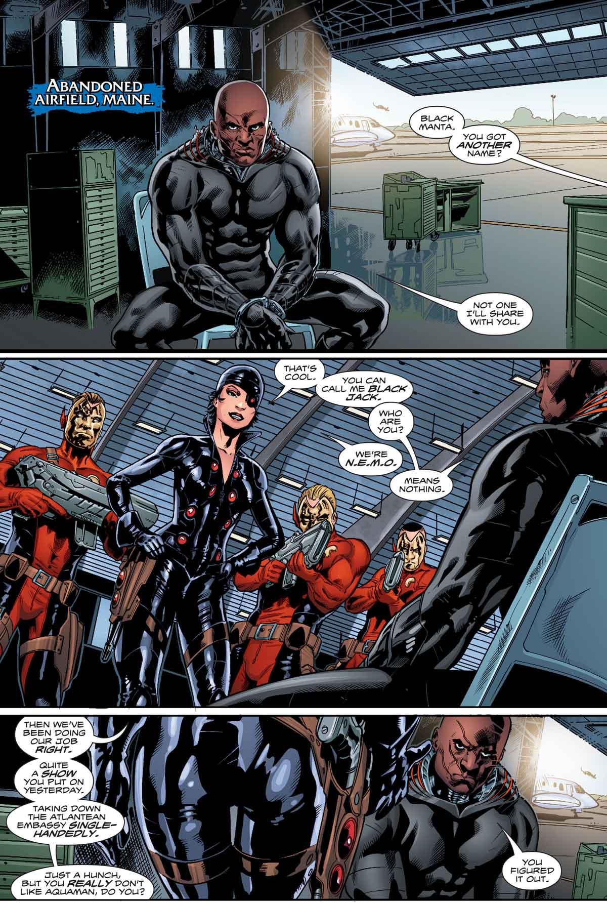 Aquaman #3 by Dan Abnett, Philippe Briones, Gabe Eltaeb, and more