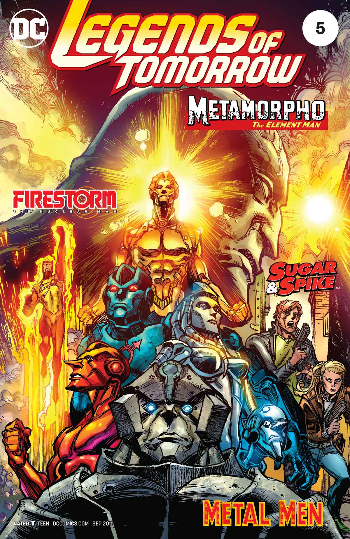 Firestorm in LEGENDS OF TOMORROW #5