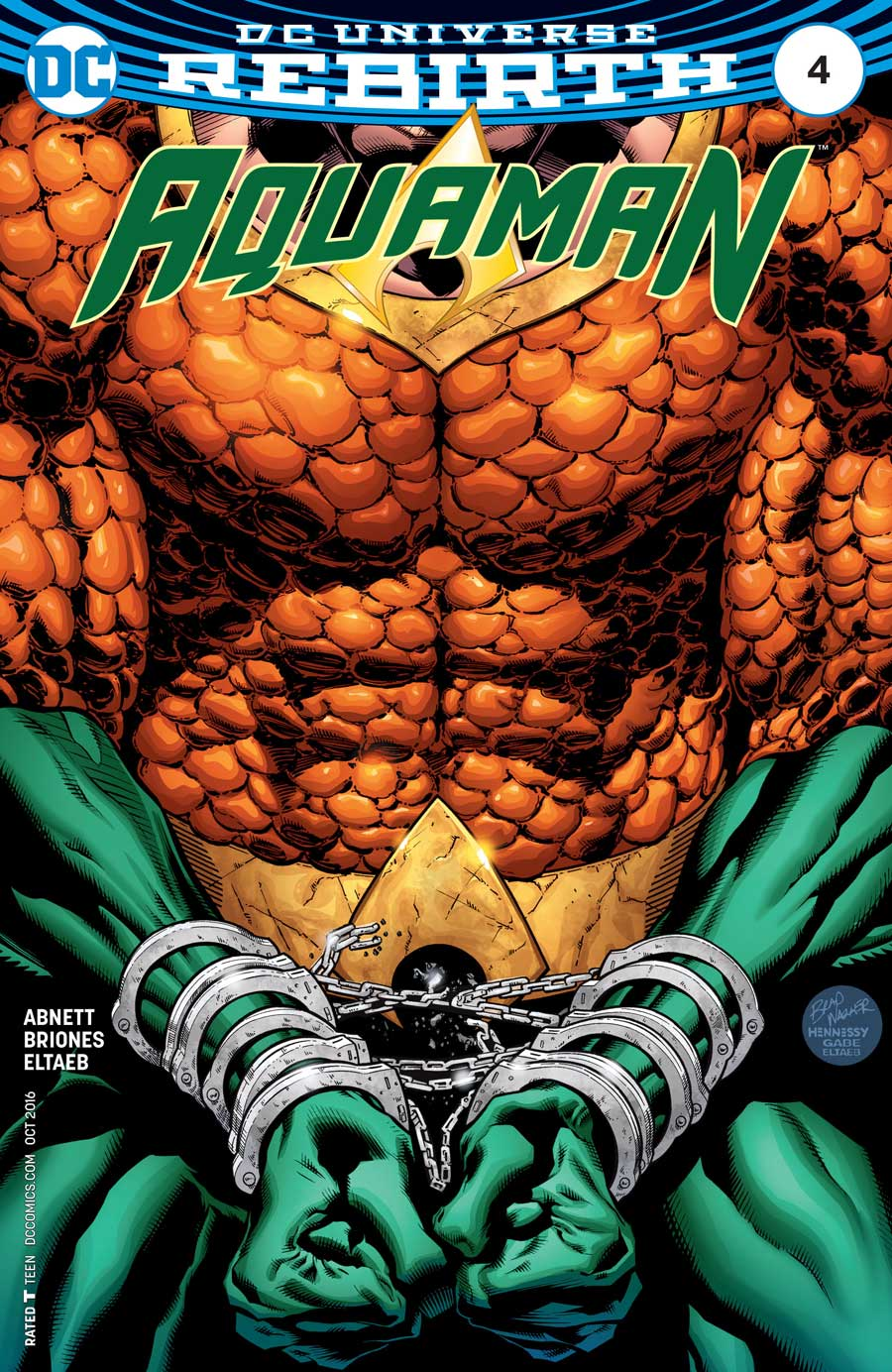 Aquaman #4 by Dan Abnett and Philippe Briones