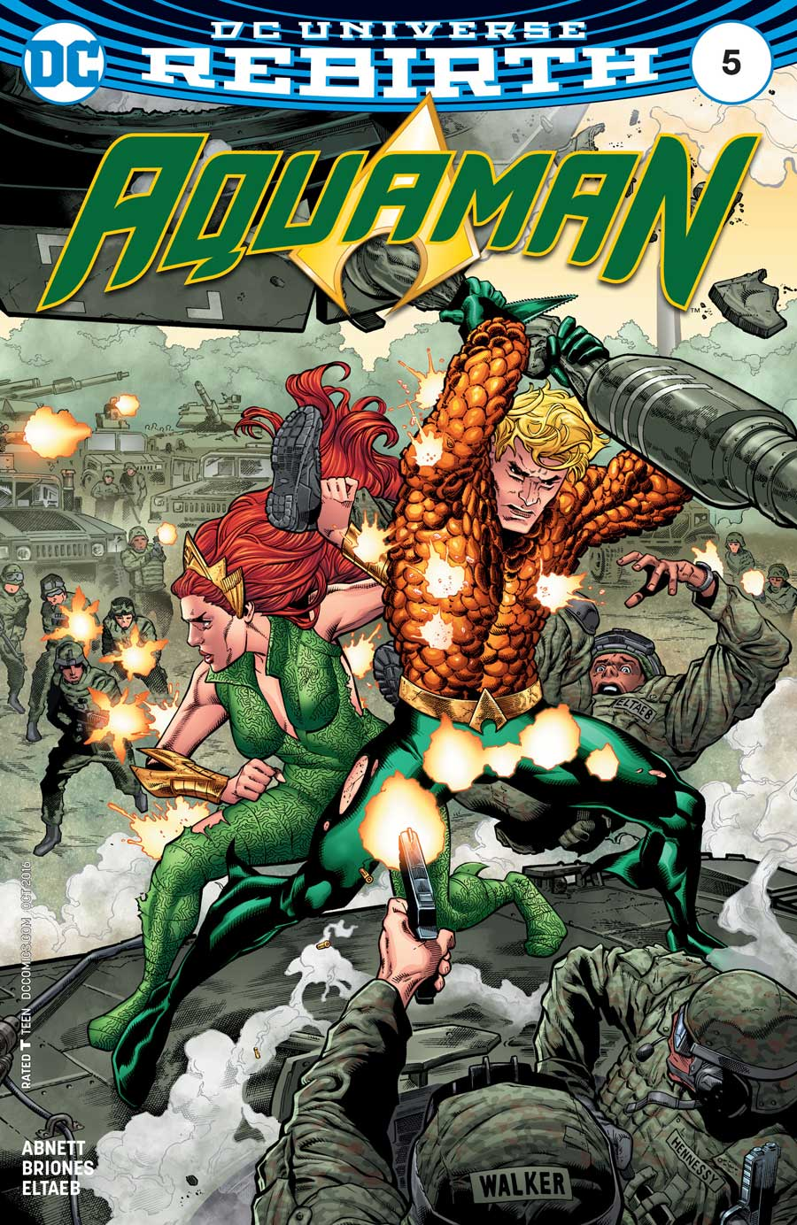 Aquaman #5 by Dan Abnett and Philippe Briones
