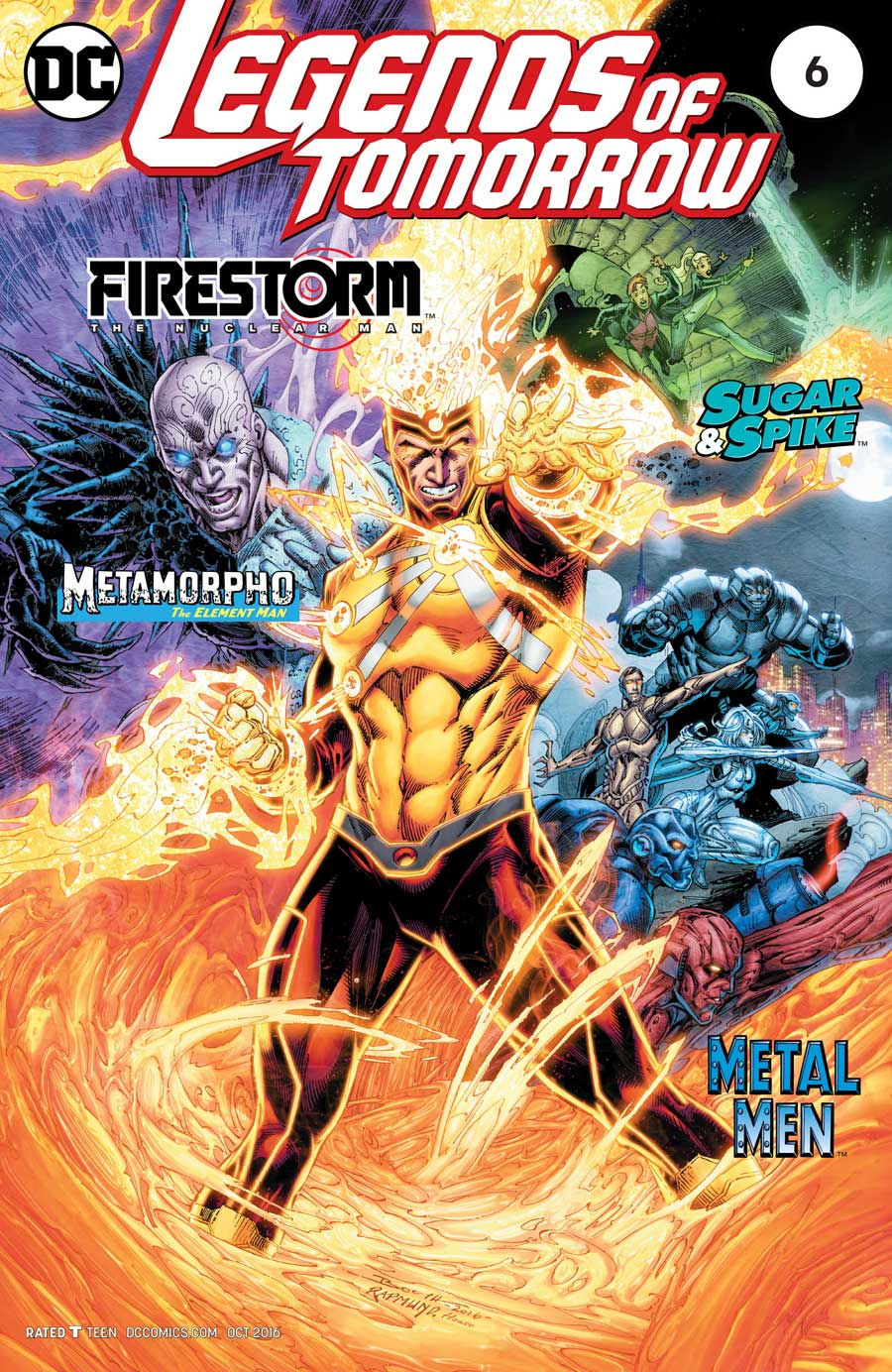 Firestorm in Legends of Tomorrow #6 by Gerry Conway, Eduardo Pansica and Rob Hunter