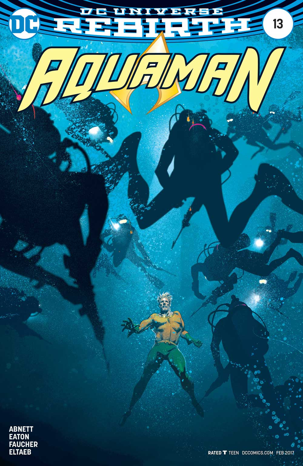 Aquaman #13 variant cover by Joshua Middleton