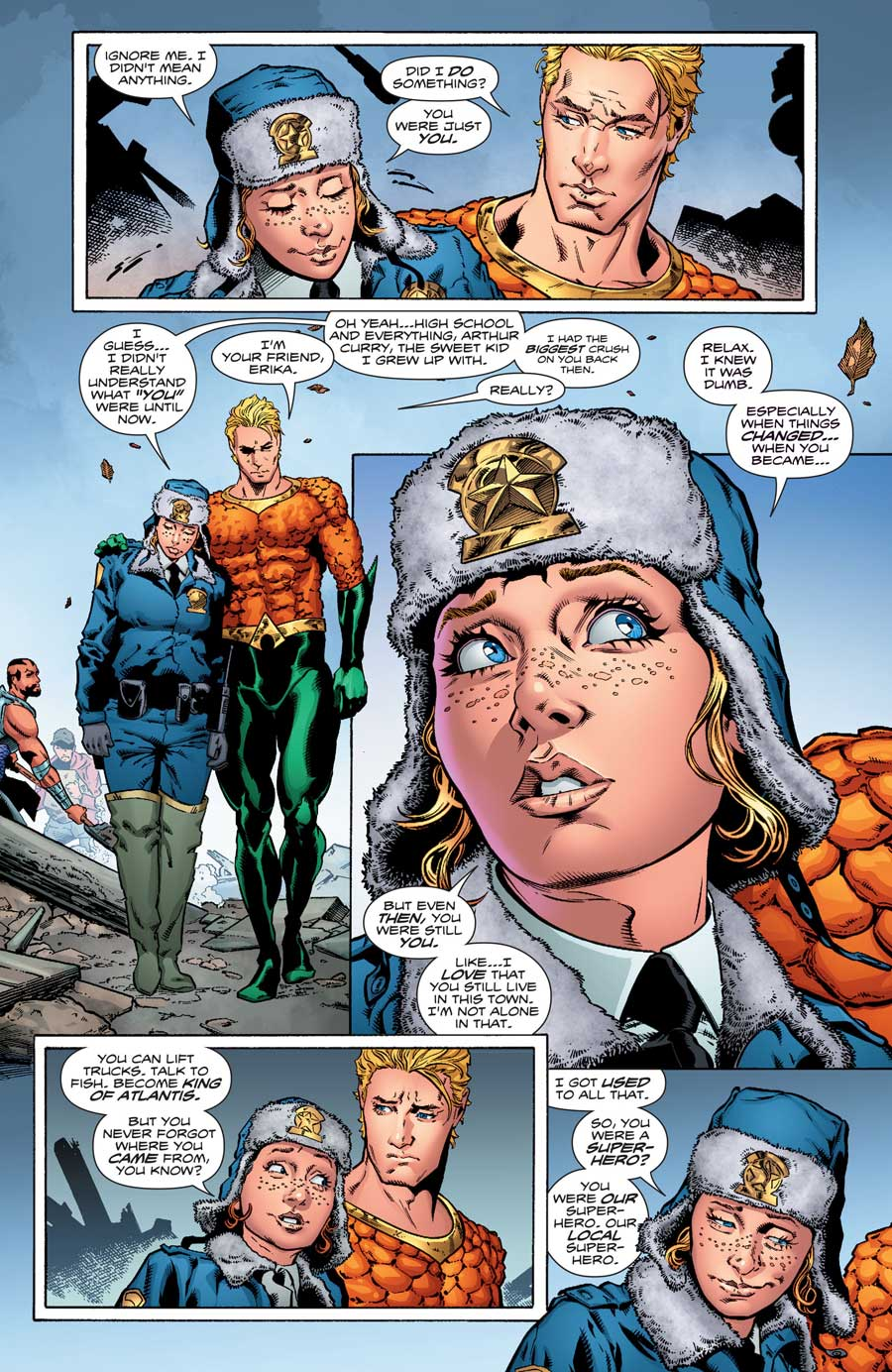 AQUAMAN #16 by Dan Abnett, Brad Walker and Andrew Hennessy