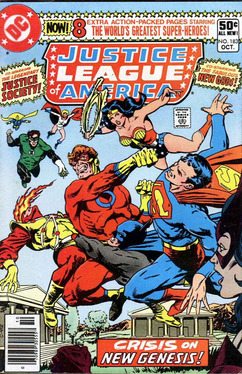 Justice League of America #183