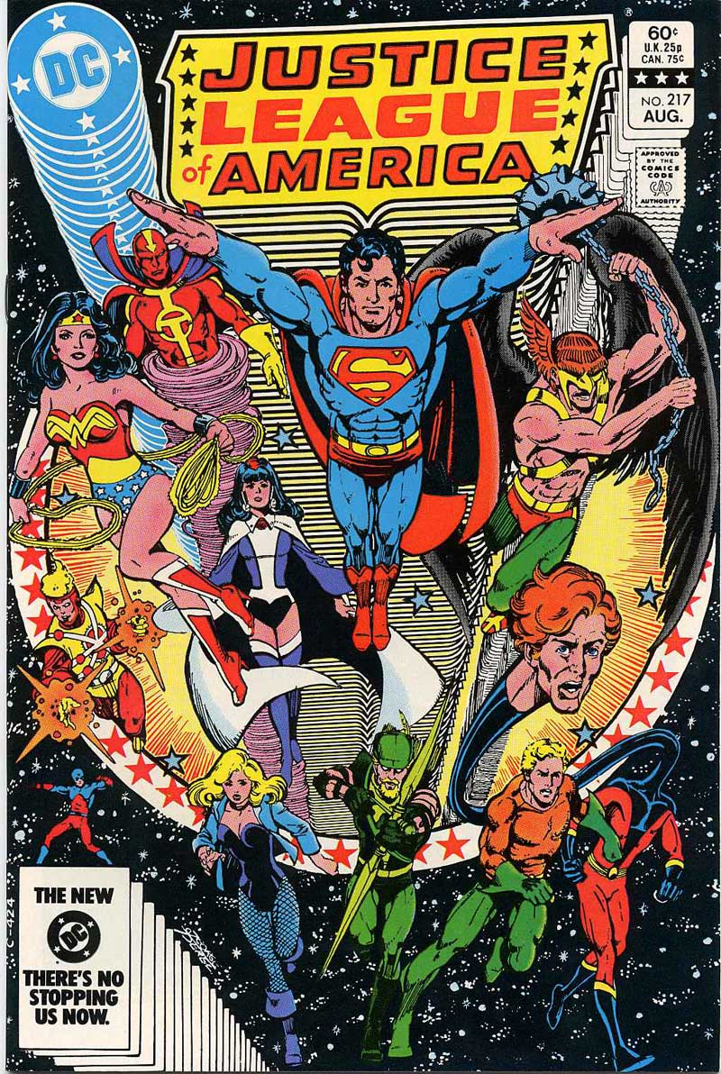 Justice League of America #217