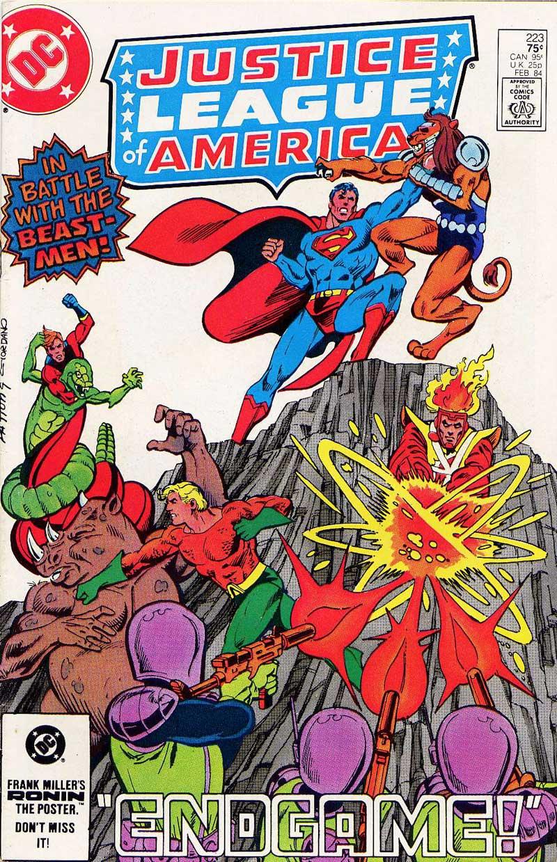 Justice League of America #223