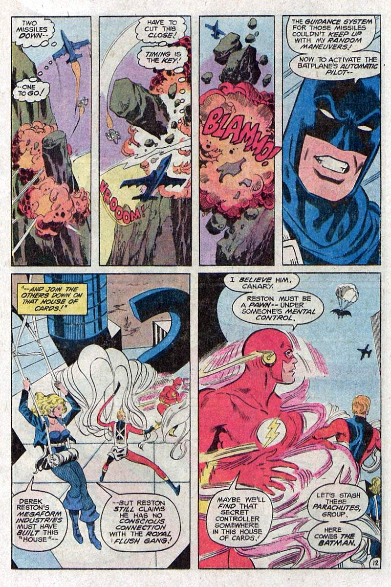 Justice League of America #205 by Gerry Conway, Don Heck and Romeo Tanghal