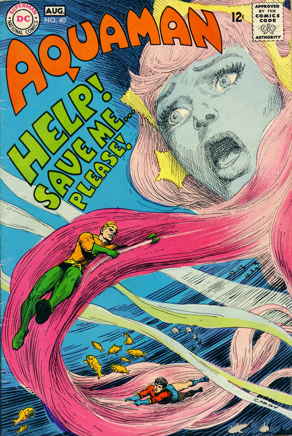 Aquamam #40 by Steve Skeates, Jim Aparo, and Dick Giordano