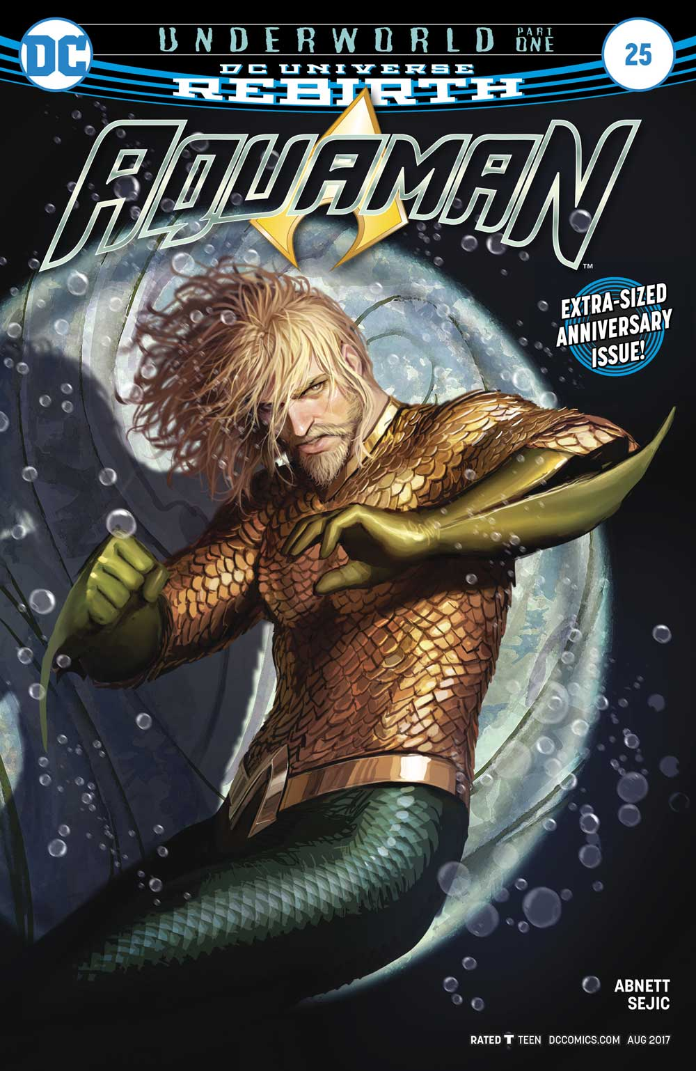 Aquaman #25 cover by Stjepan Sejic