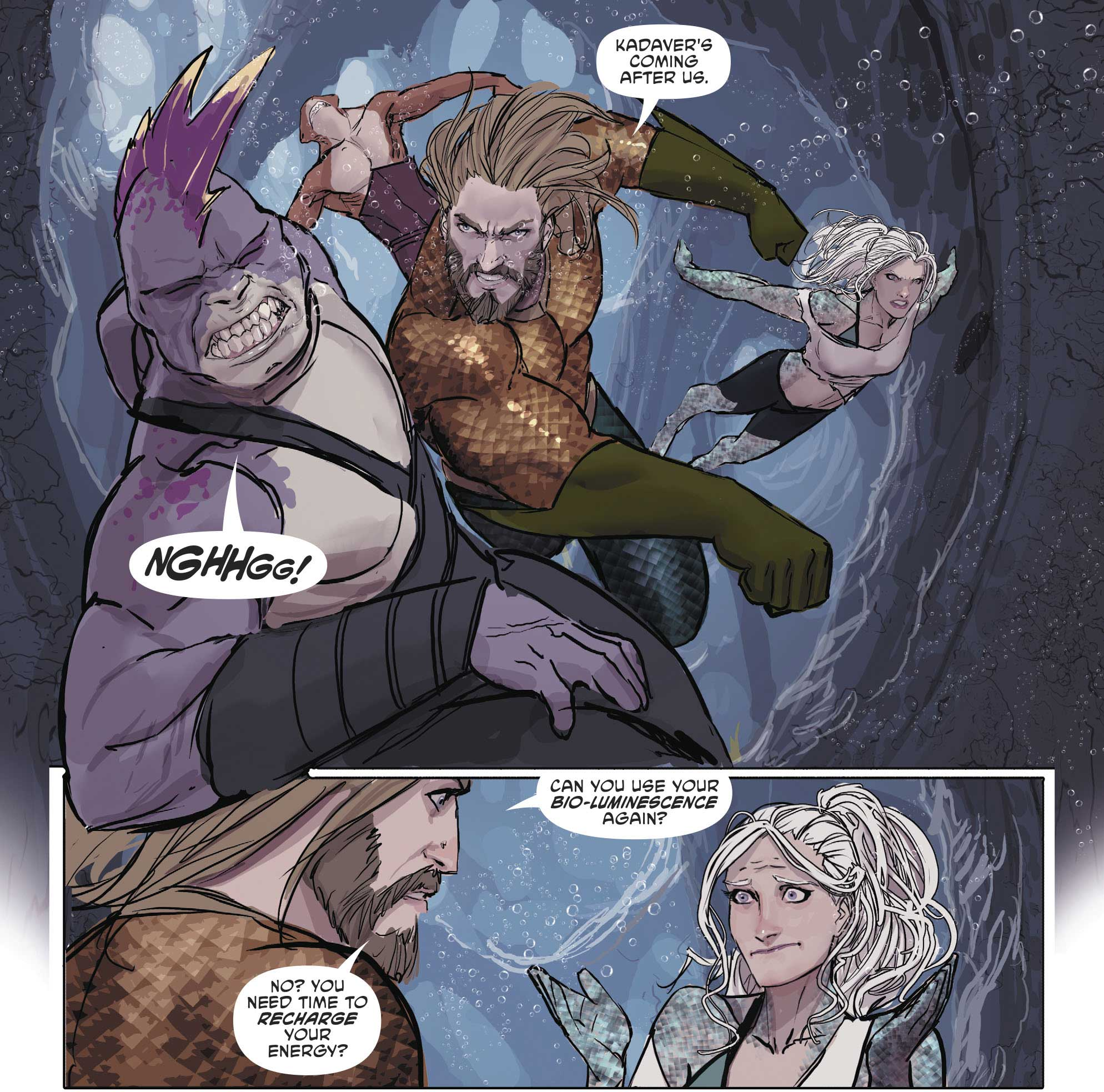 Aquaman featuring Dolphin by Stjepan Sejic
