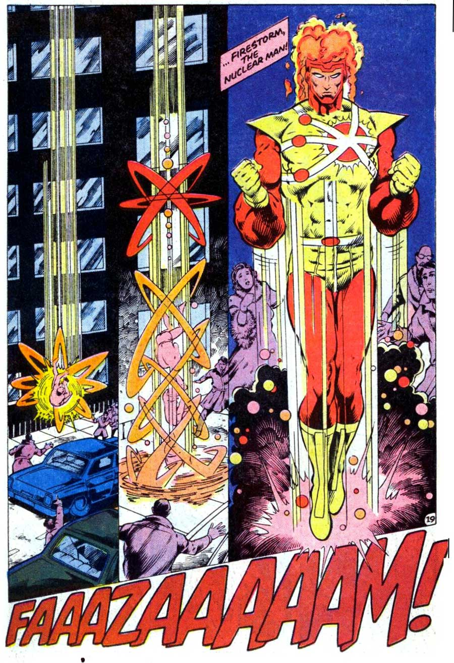 Fury of Firestorm #38 by Gerry Conway, Rafael Kayanan, Akin & Garvey