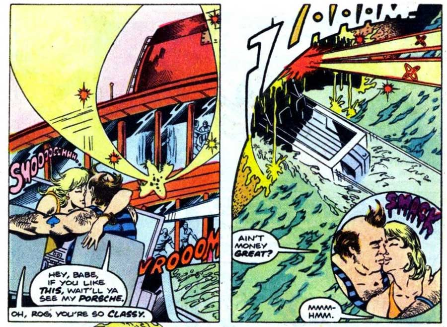 Fury of Firestorm #40 by Gerry Conway, Mike Clark, Akin & Garvey