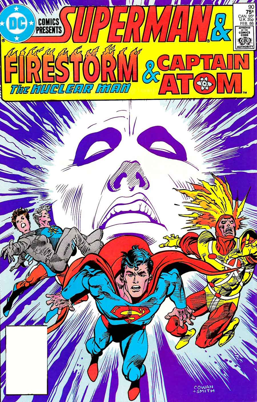 DC Comics Presents #90 by Paul Kupperberg, Denys Cowan, and Dave Hunt