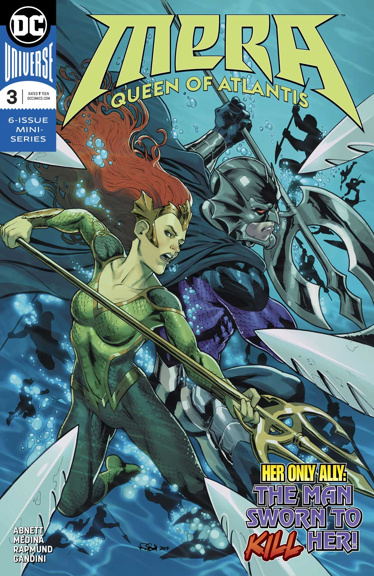 Mera Queen of Atlantis mini-series by Dan Abnett, Lan Medina and Richard Friend