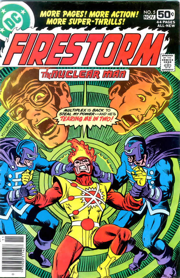 Firestorm the Nuclear Man #5 (1978) cover by Al Milgrom