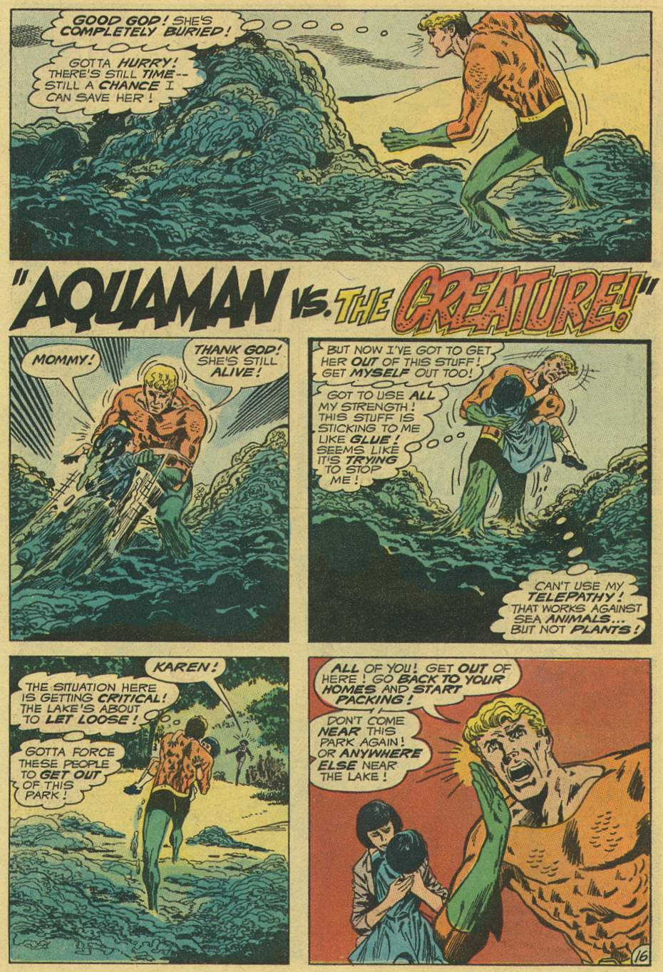Aquaman #56 (1971) by Steve Skeates, Jim Aparo, and Dick Giordano