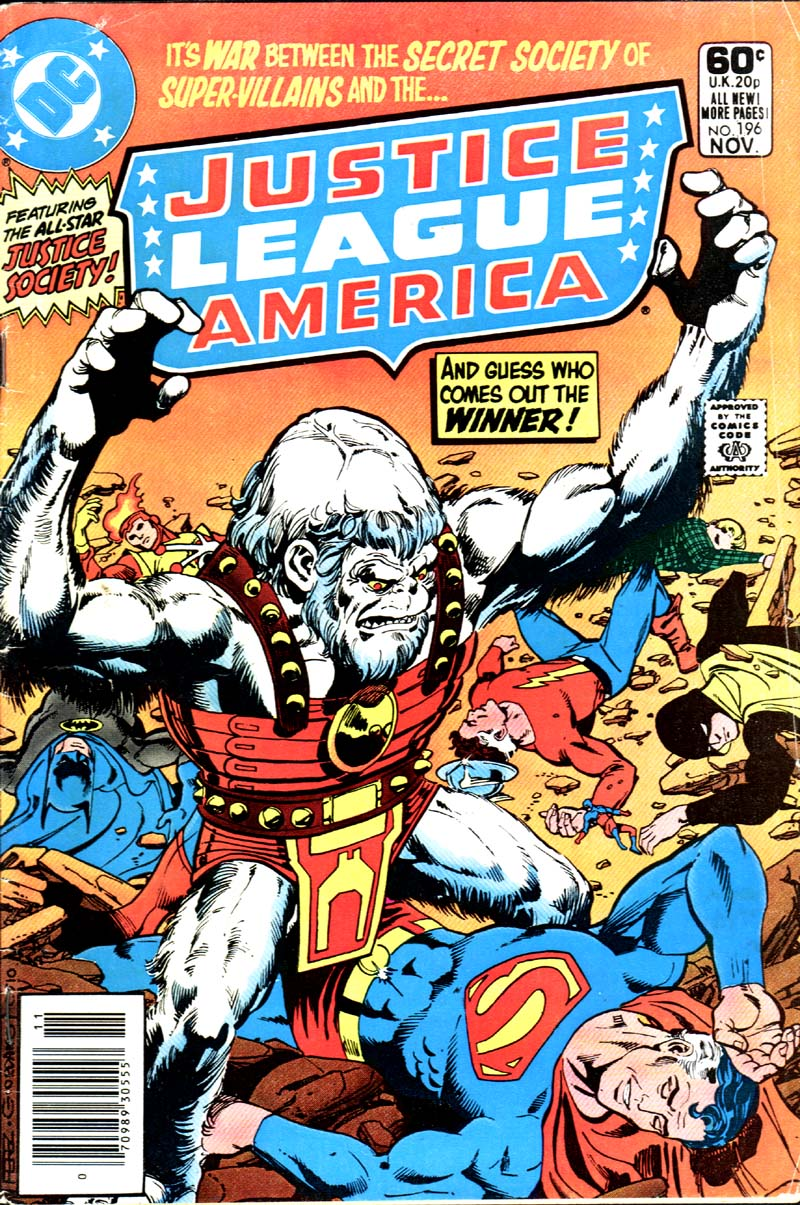 Justice League of America #196 by Gerry Conway, George Perez and Romeo Tanghal