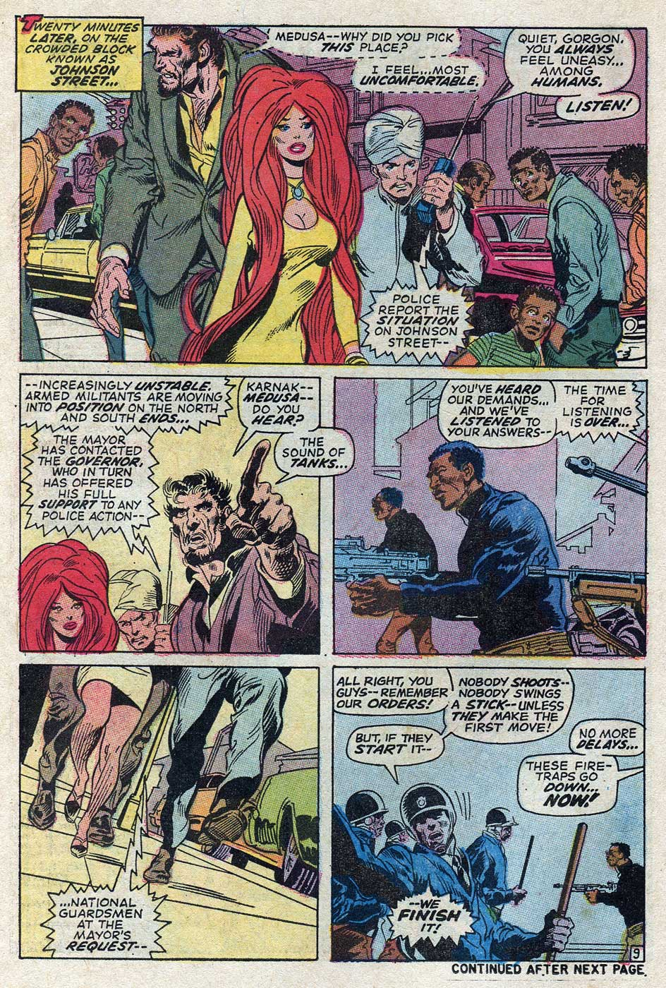 Amazing Adventures #7 featuring the Inhumans by Gerry Conway, Neal Adams and John Verpoorten