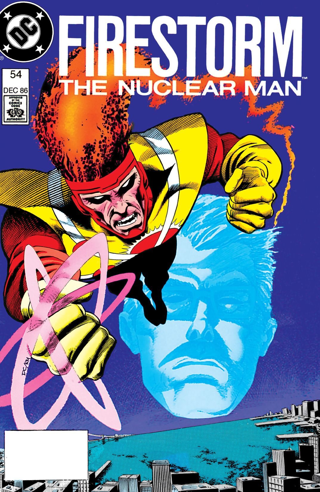 Fury of Firestorm #54 by Paul Kupperberg, Michael Bair and Robert Allen Smith; cover by Denys Cowan & Rick Magyar