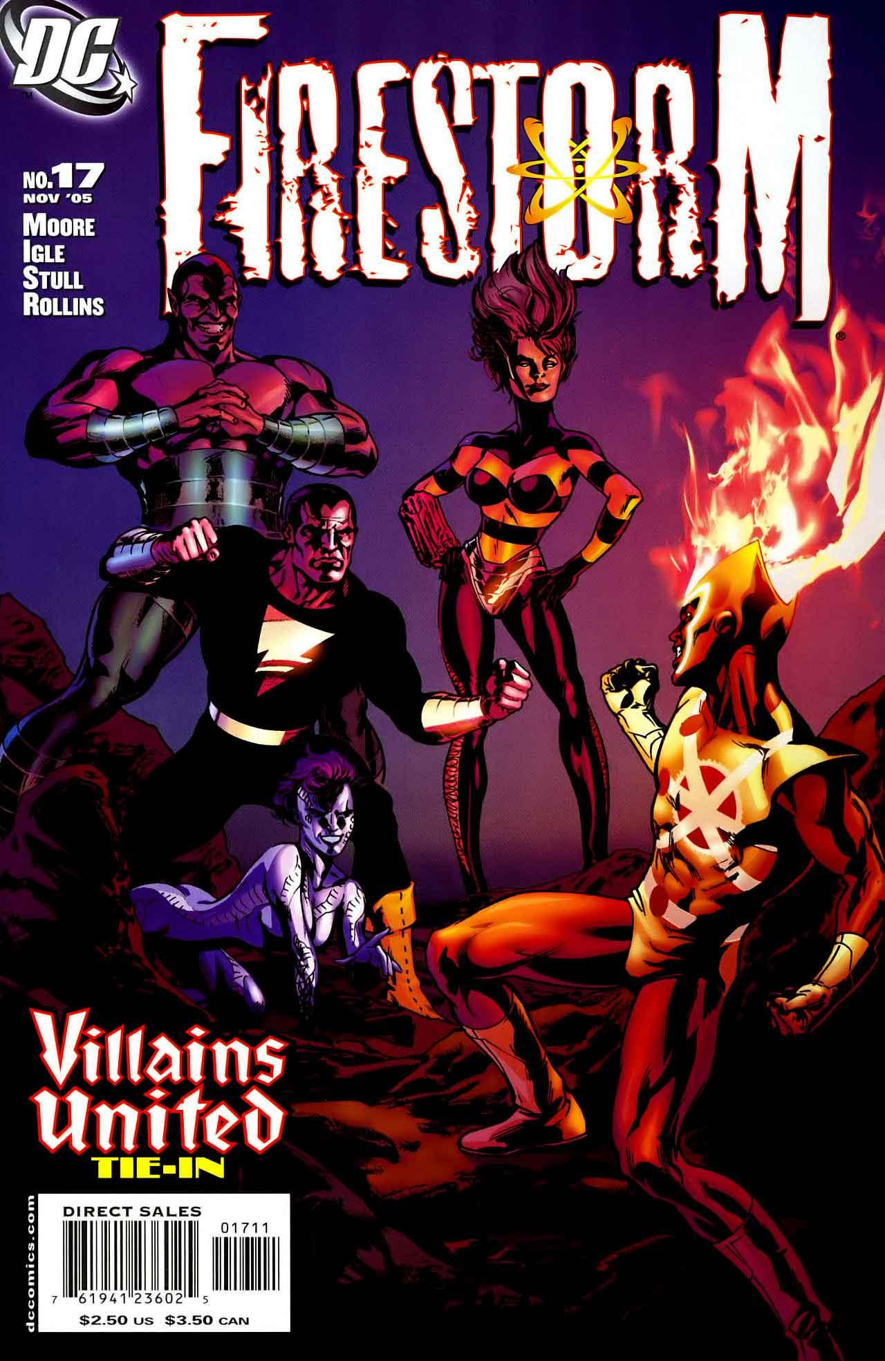 FIRESTORM #17 Cover by Matt Haley