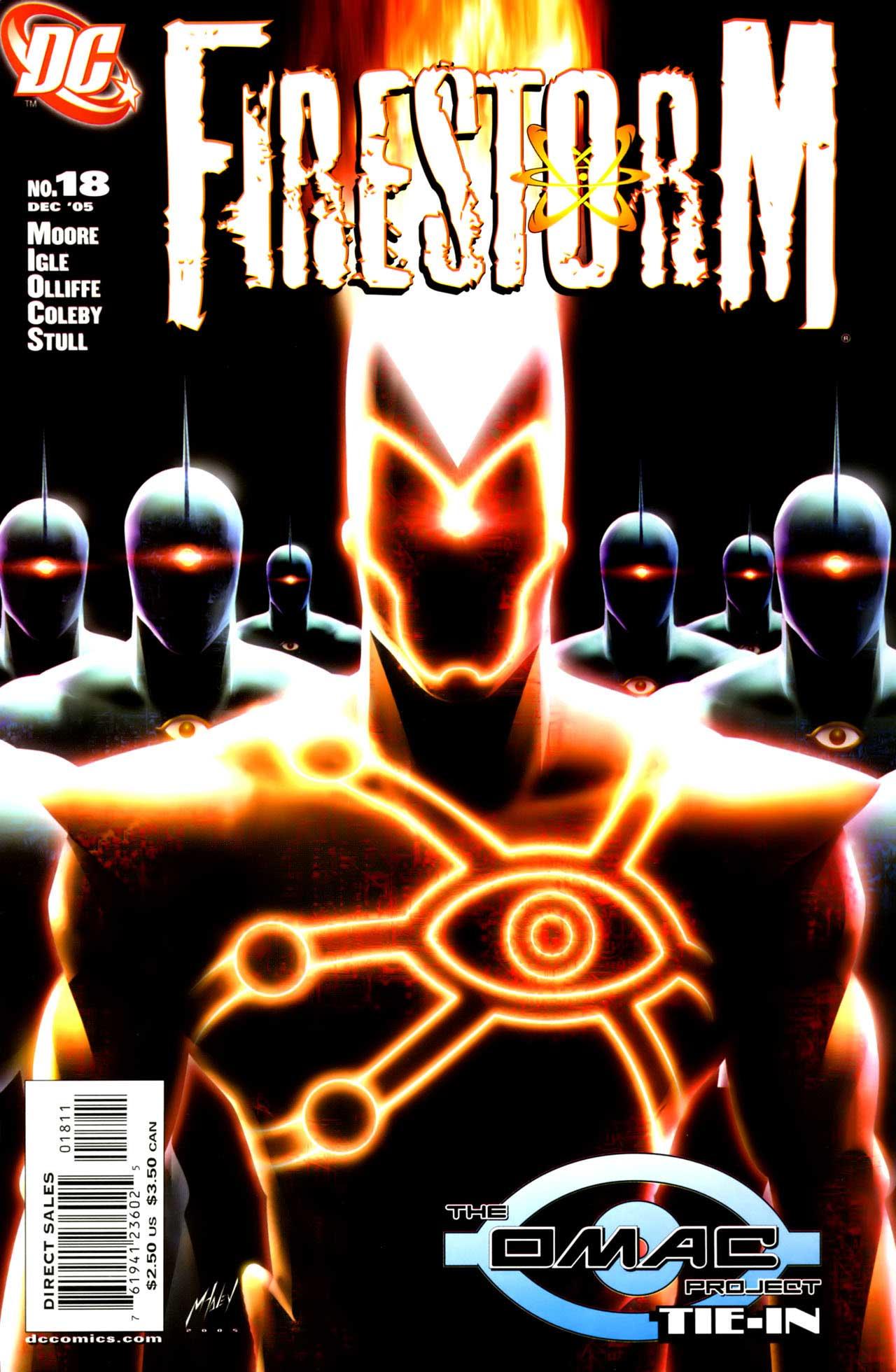 FIRESTORM #18 Cover by Matt Haley
