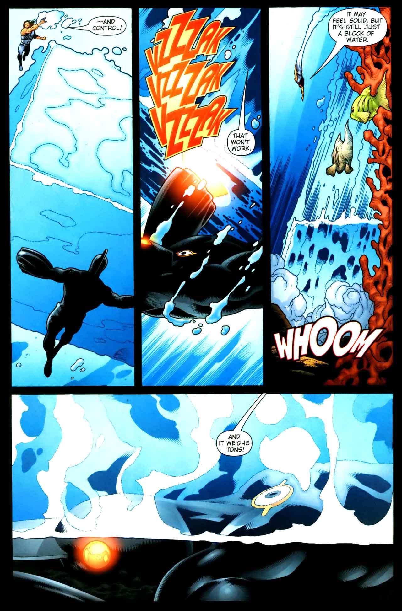 AQUAMAN #35 by John Arcudi, Leonard Kirk, and Andy Clarke