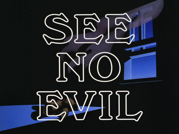 "BATMAN: THE ANIMATED SERIES, Season 1, Episode 56 - ""See No Evil"" written by Martin Pasko"