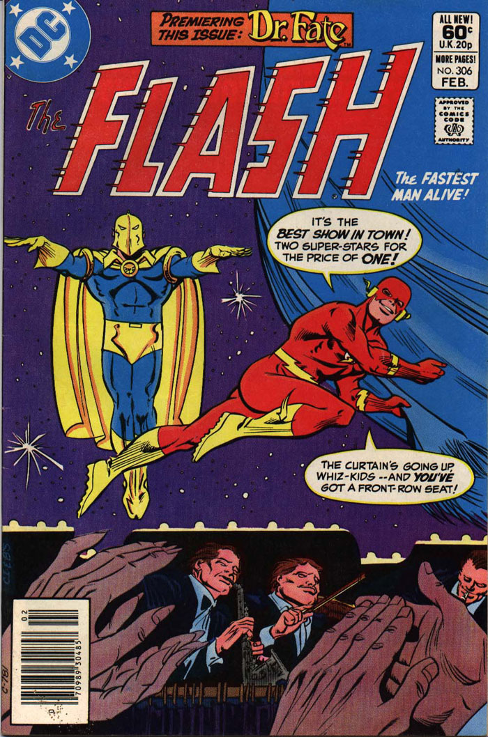 THE FLASH #306 featuring Dr. Fate by Martin Pasko, Keith Giffen and Larry Mahlstedt