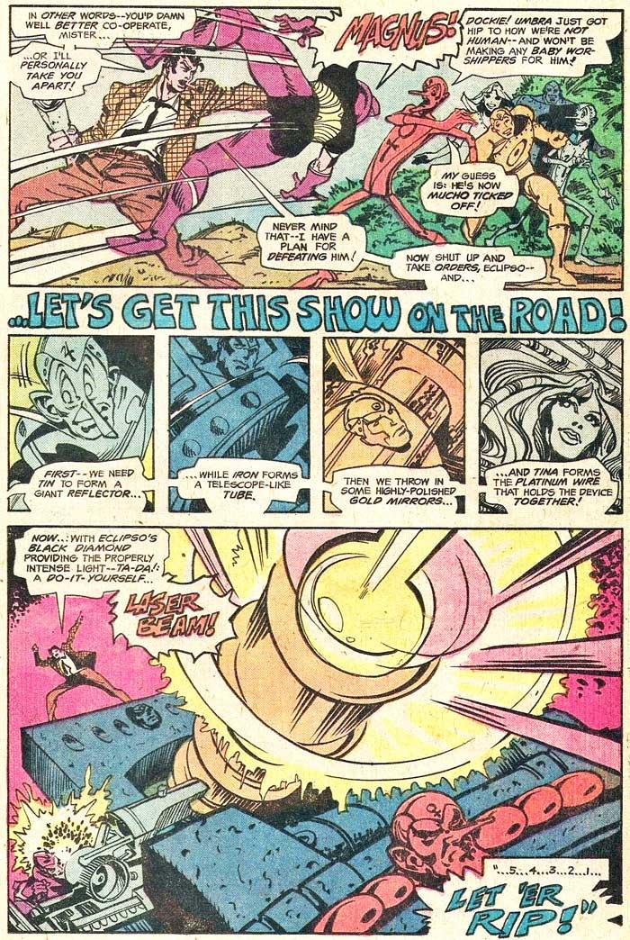 METAL MEN #49 by Martin Pasko and Walt Simonson