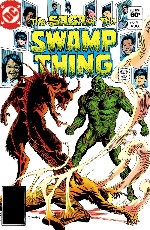 SAGA OF THE SWAMP THING #4 by Martin Pasko and Tom Yeates