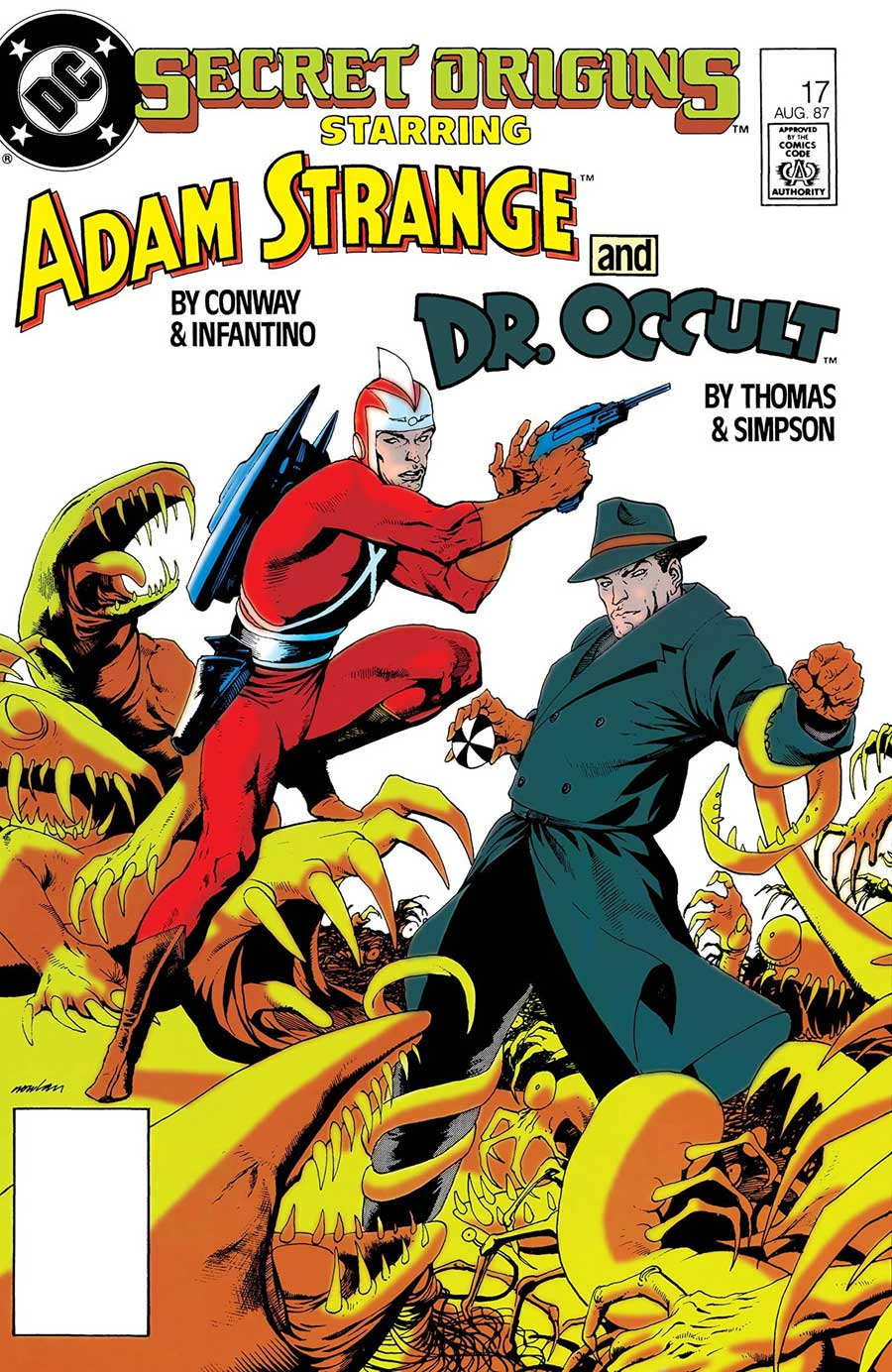 "Secret Origins Vol. 2 #17 (August 1987): ""The Secret Origin of Dr. Occult"" by Roy Thomas, E. Nelson Bridwell, Howard Simpson, and Bob Lewis"