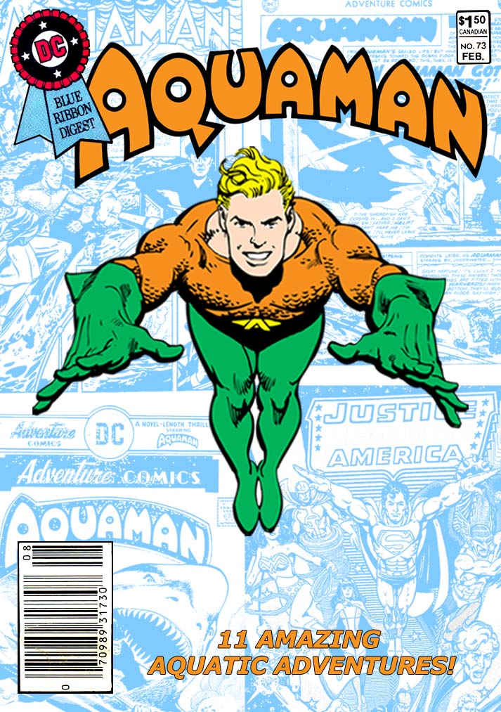 Best of DC Digest #73 Aquaman - from the Fire and Water Podcast